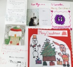 Just a few wonderful Christmas cards from my amazing students